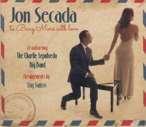 Jon Secada Featuring The Charlie Sepulveda Big Band<br>...To Beny More With Love<br>CD